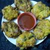 Cabbage Fritters/Cabbage Pakora/Bandhakopir Bora