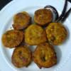 Stuffed Teasel Gourd Fritters / Kakrol Pur Bhaja
