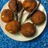 Fritters With Soya Chunks / Soya Nuggets Bonda/Soya Balls