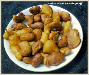 Cashew Pakora
