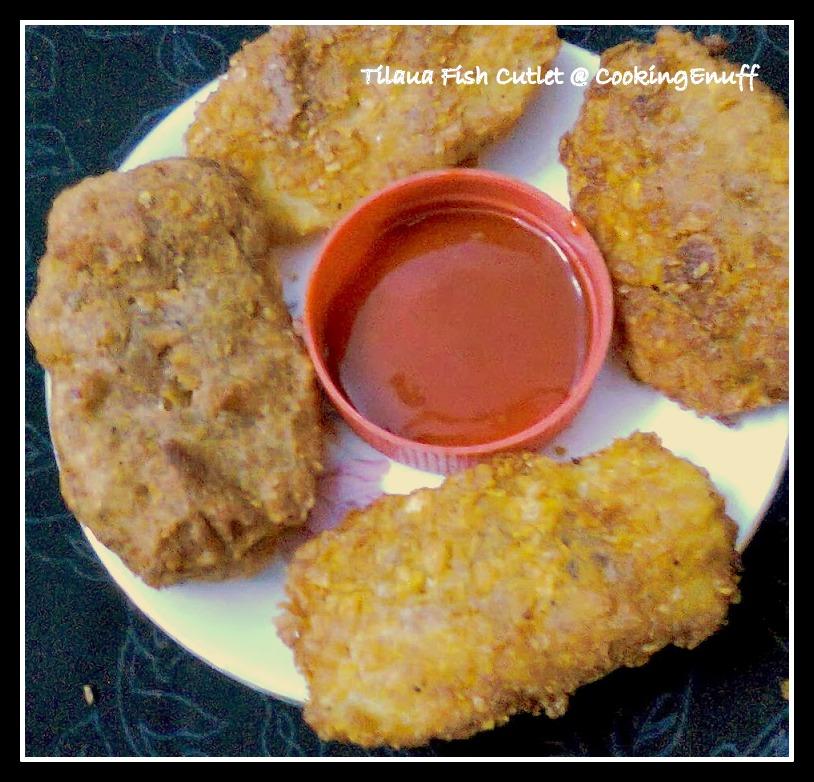 Tilapia Fish Cutlet