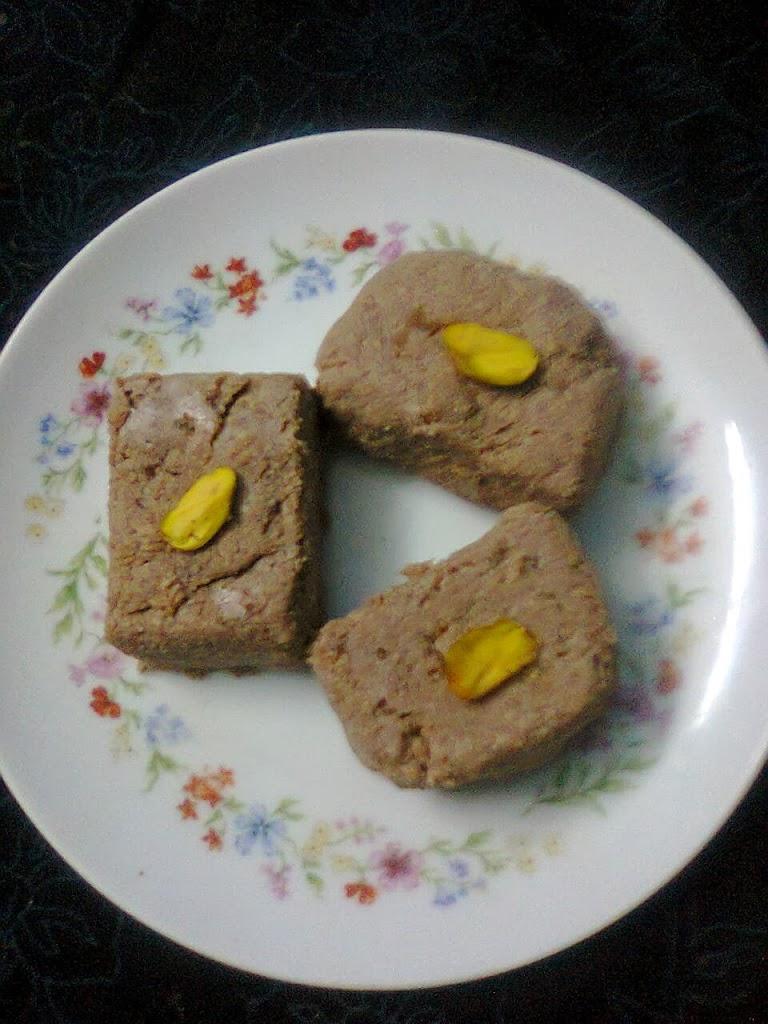 Chocolate Ice cream Sandesh / Party Dessert / Bengali Sweet