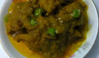 Dry Chicken Curry/Chicken With Green Chilly/Healthy Chicken