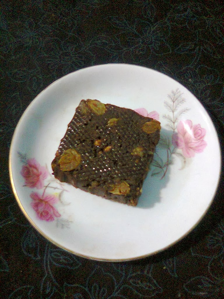Chocolate Sweet/Chocolate Barfi/Easy Chocolate Sondesh