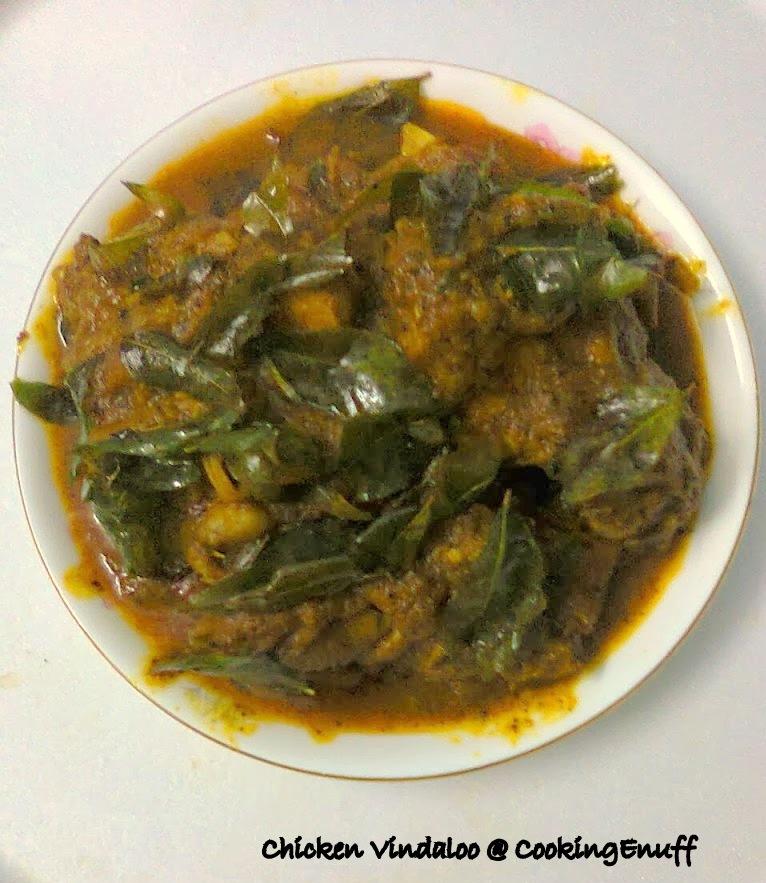 Chicken Vindaloo/Goan Chicken/Hot And Spicy Chicken Curry
