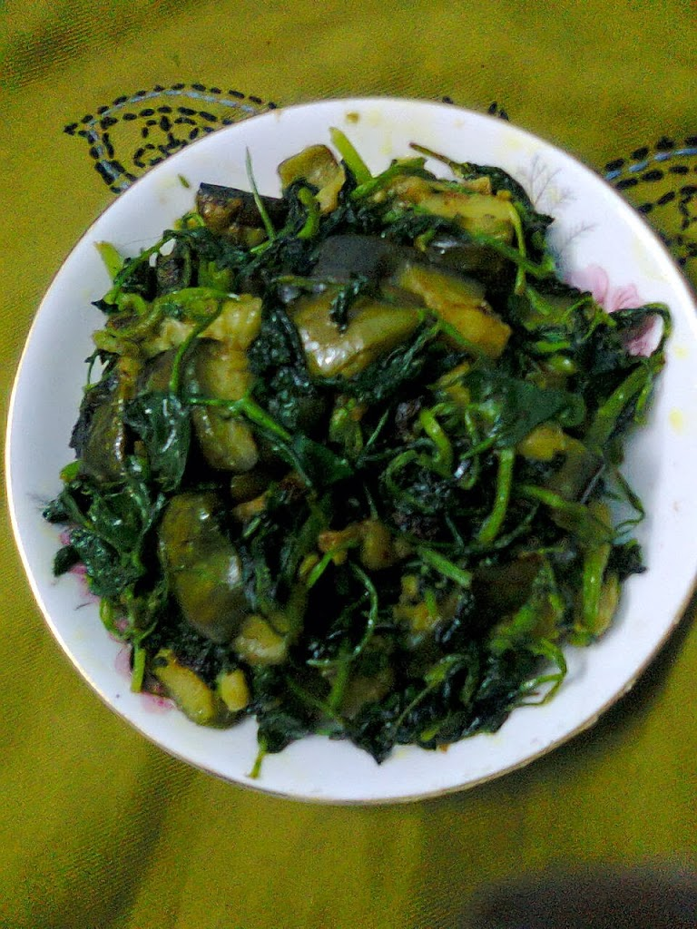 Fenugreek Leaves With Eggplant/Healthy Methi-Leaves Curry ...