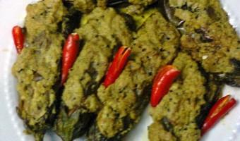 Vegetarian Eggplant – Poppy Seeds Curry/Bengali Begun – Posto