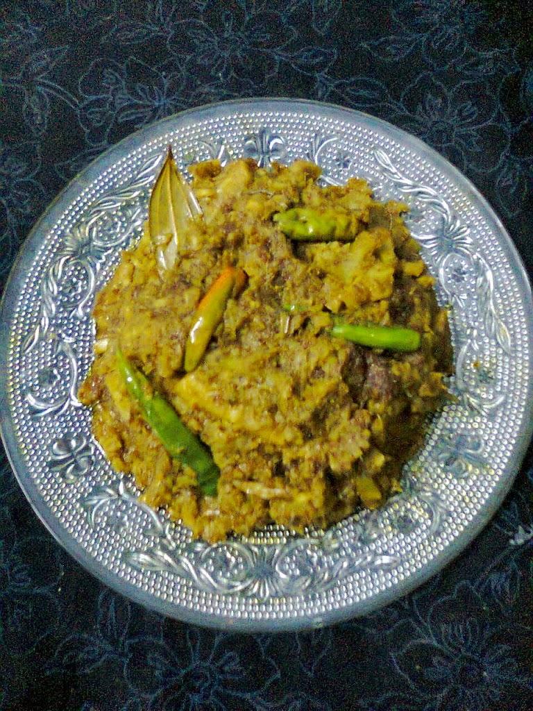 Bombay Duck Dry Curry/Bengali Loitta Macher Bharta (Jhuri)