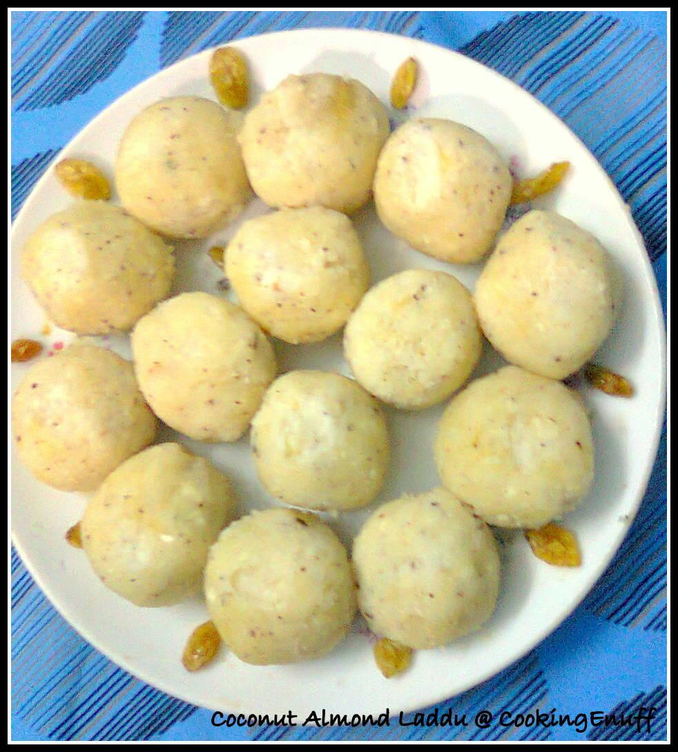 Coconut – Almond Sweet/Coconut – Almond Laddu