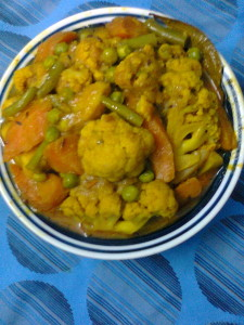 Mixed Veg Korma