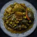 Eggplant Peas