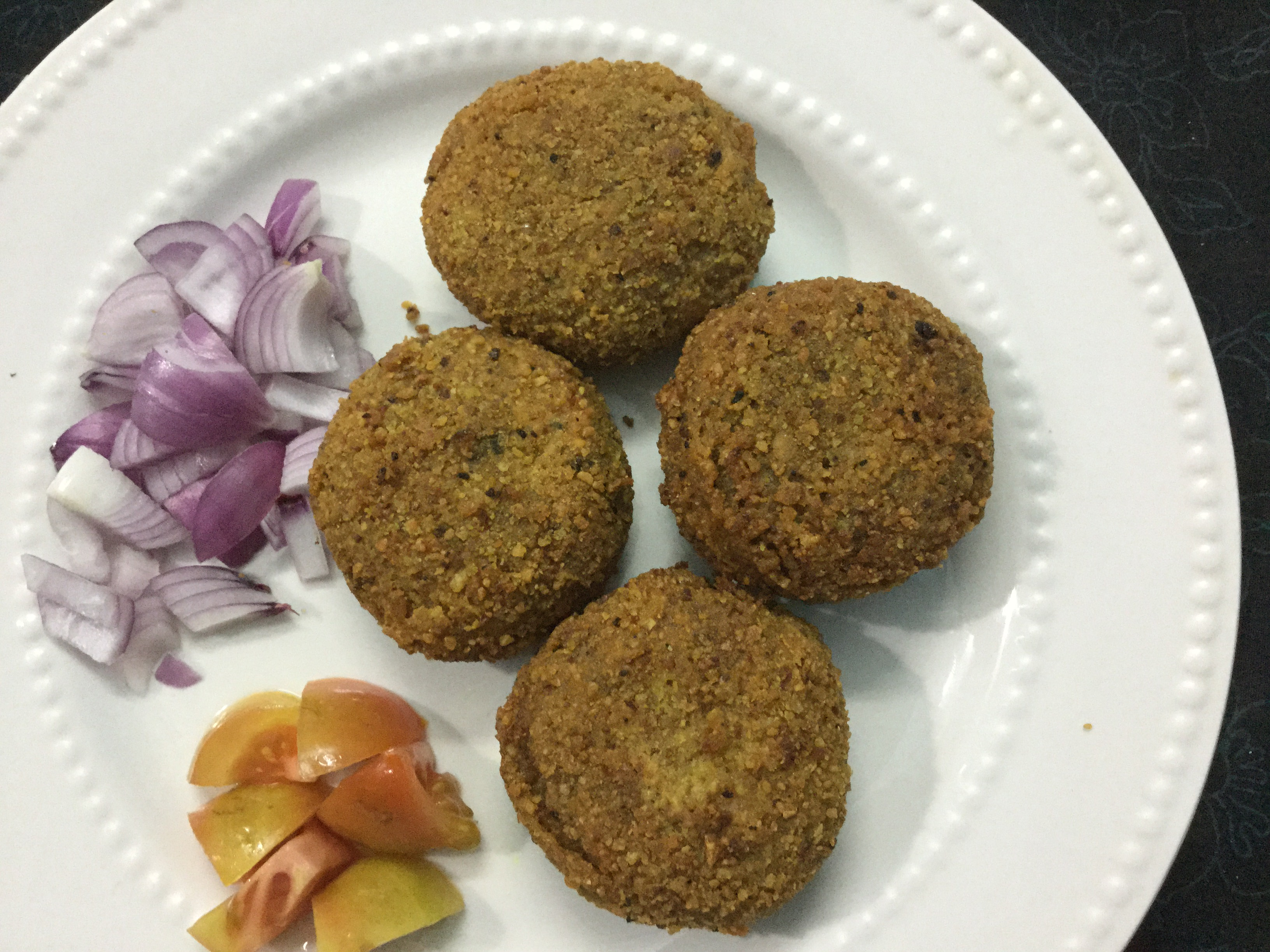 Fritters With Minced Mutton / Bengali Mutton Chop