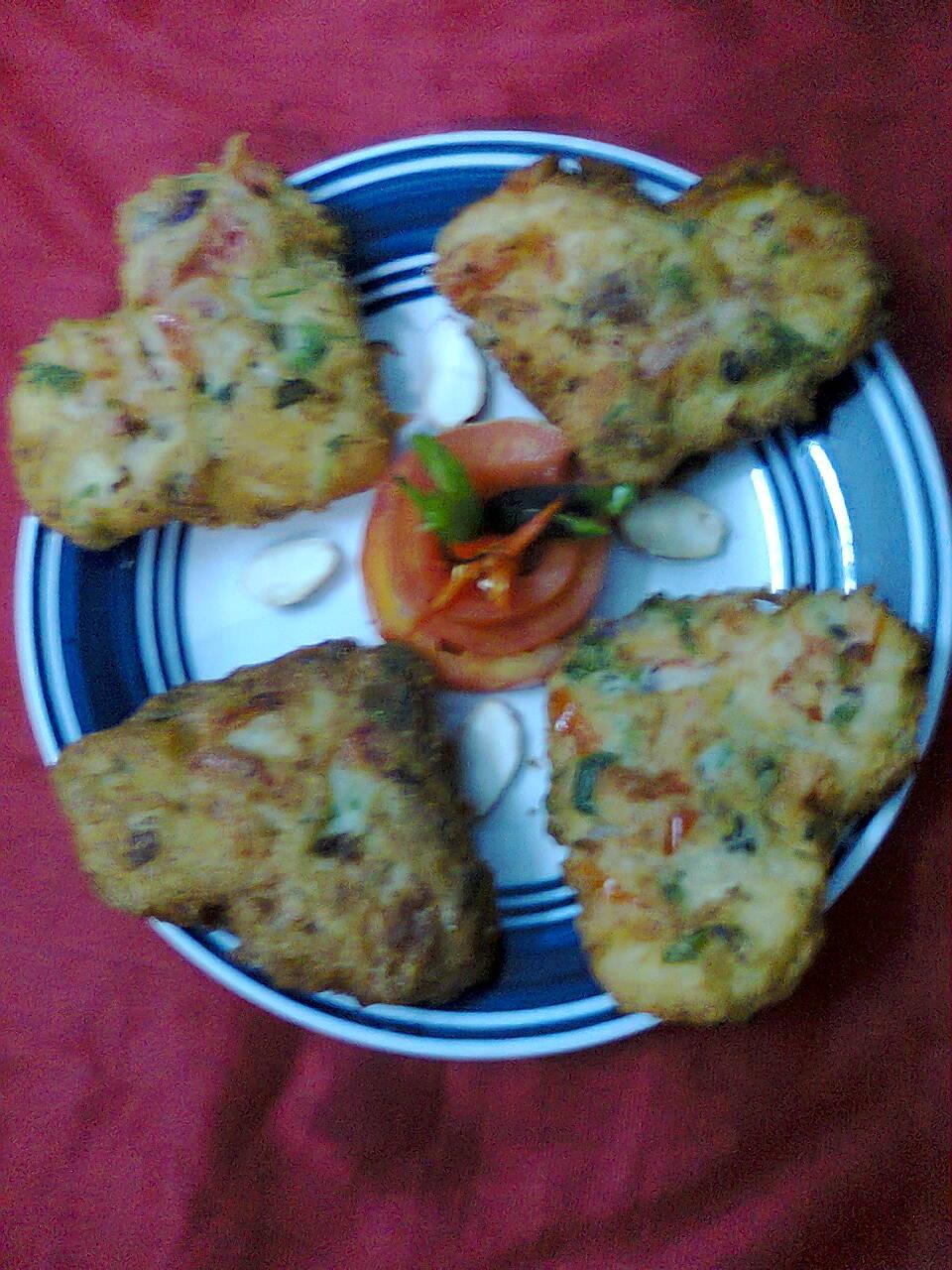 Easy Party Snacks – Bread (Pauruti) Fritters.