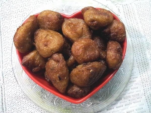 Sweet Jackfruit Fritters