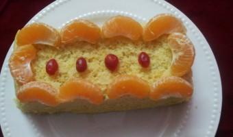 Microwave Fresh Orange Cake.