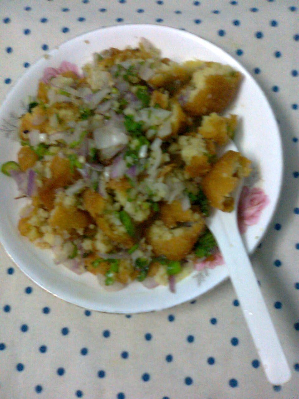 Easy To Make Evening Snacks–Dal Bora Chat.