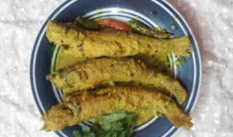Bele Fish With Mustard Seeds Paste/Bele Macher Jhal