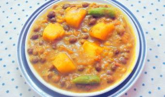 Easy To Make Side Dish–Kala Chana (Black Chickpeas) Curry