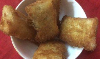 Easy To Make Snacks–Fried Bread Momo
