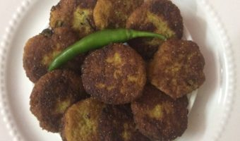 Bengali Recipe–Postor Bora/Poppy Seeds Fritters.