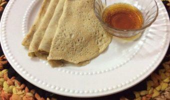 Diabetes Friendly Breakfast Recipe–Oats crepes