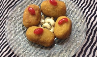 Low Sugar Dessert Made With Sweet Potato/Ranga Aloor Misti