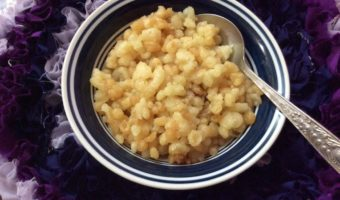 White Boondi Recipe.