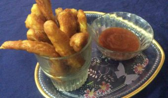 Easy To Make Snacks–Baby Corn Pakora/Baby Corn Fritters.