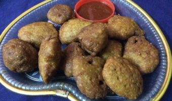 Delicious Evening Snacks Made With Pumpkin/Kumror Pakora
