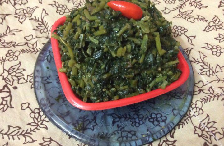 Diabetic Friendly Recipe-Fenugreek Leaves Fry/Methi Shak Bhaja.